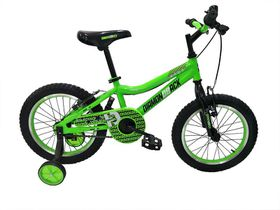 Boys Diamond Back 16-Inch Viper Mountain Bike - Black/Green