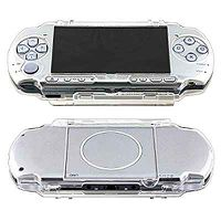 Clear Snap-On Hard Case Cover For Sony PSP