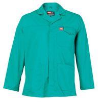 Jonsson Workwear Polycotton Work Jacket - Emerald