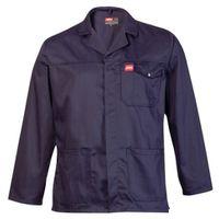 Jonsson Workwear Polycotton Work Jacket - Navy