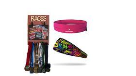 TheGoodSport Unisex 3 Piece Race Set - Pink & Rose (Size: S)