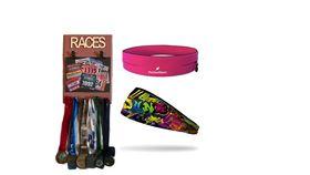 TheGoodSport Unisex 3 Piece Race Set - Pink & Rose (Size: L)