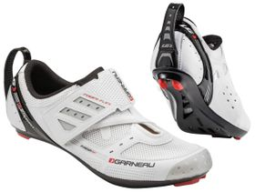 Louis Garneau Unisex Tri X-Speed II Triathlon Shoe - White