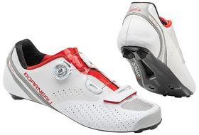 Louis Garneau Unisex Carbon II Cycling Shoes - White & Ginger
