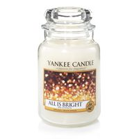 Yankee Candle Classic All Is Bright Scented Large Candle Jar
