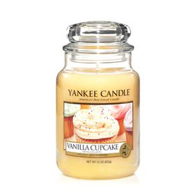 Yankee Candle Classic Vanilla Cupcake Scented Large Candle Jar