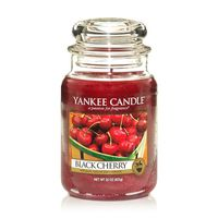 Yankee Candle Classic Black Cherry Scented Large Candle Jar
