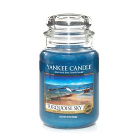 Yankee Candle Classic Turquoise Sky Scented Large Candle Jar