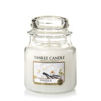 Yankee Candle Classic Vanilla Scented Medium Candle Jar