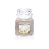Yankee Candle Classic Driftwood Scented Medium Candle Jar