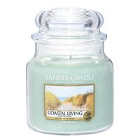 Yankee Candle Classic Coastal Living Scented Medium Candle Jar
