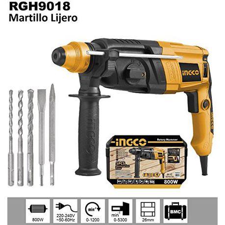 Ingco Drill Rotary Hammer - 800W