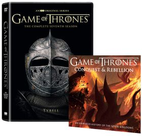 Game Of Thrones: Season 7 (Tyrell Sleeve) - Includes Conquest & Rebellion (DVD)