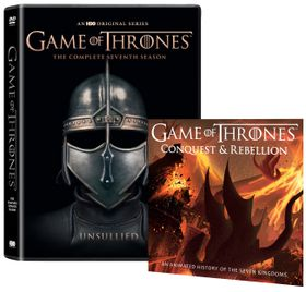Game Of Thrones Season 7 (Unsullied Sleeve) - Includes Conquest & Rebellion (DVD)