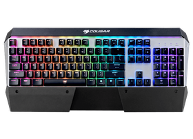 Cougar Attack X3 RGB Gaming Keyboard - MX Cherry Red Switches