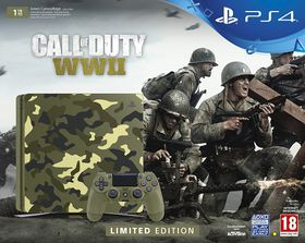 Playstation 4 1TB COD WWII Limited Edition Console + Call Of Duty WW 2 (PS4)