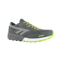 Hi-Tec Men's Badwater Trail Running Shoes - Citadel, Limoncello & Silver