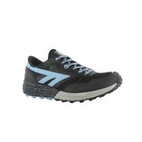 Hi-Tec Women's Badwater Trail Running Shoes - Black & Forget Me Not