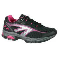Hi-Tec Women's Mercury Trail Running Shoes - Cerise & Black
