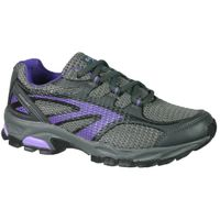 Hi-Tec Women's Mercury Trail Running Shoes - Grey & Purple