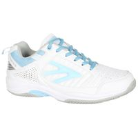 Hi-Tec Women's Tour Court Shoes - White & Forget Me Not