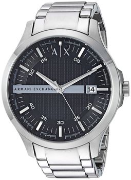 Armani AX2103 Exchange Men's Watch - Silver (Parallel Import)