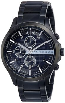 Armani AX2138 Exchange Mens Large Chronograph Watch - Black (Parallel Import)