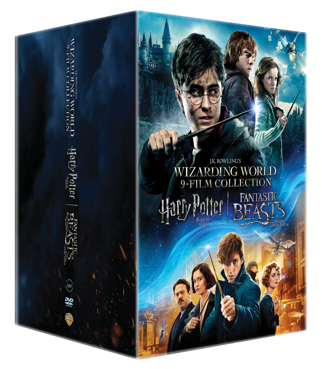 harry potter wizarding world 9 film collection dvd buy online in south africa. Black Bedroom Furniture Sets. Home Design Ideas