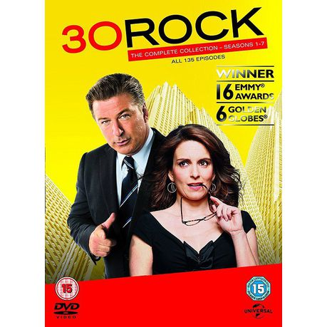 30 Rock: Seasons 1-7(DVD)
