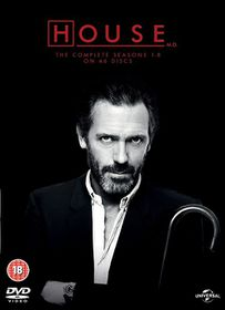 House Complete Season 1-8 (Parallel Import - DVD)