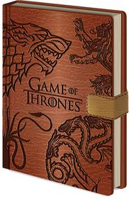 Game of Thrones: Pyramid International Sigils Premium Notebook A5 (Parallel Import)