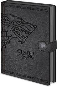 Game of Thrones: Pyramid International Stark Premium Notebook A5 (Parallel Import)