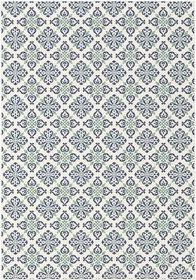 Rugs Original T-Star Tiled Print - Black & White