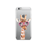 Hey Casey! Giraffe with Glasses Case for iPhone 6 & 6s