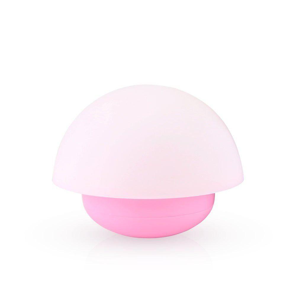 Smugg LED Silicone Mushroom Tumbler Night Light   Pink ...