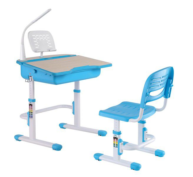 My Desk Kids Study Desk Set Elite   Blue