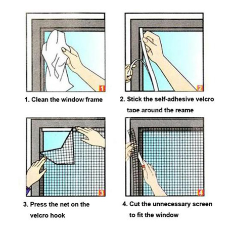 Anti Fly/Mosquito Window Mesh Screen | Buy Online in South