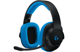 Logitech G233 Gaming Headset - Black with Blue