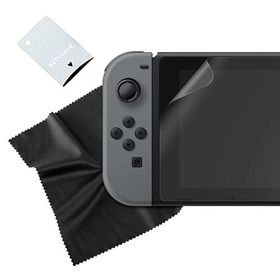 Sparkfox - Tempered Glass Screen Protector & Cloth (Nintendo Switch)