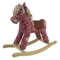 Jeronimo Rocking Horse - Rodeo Red