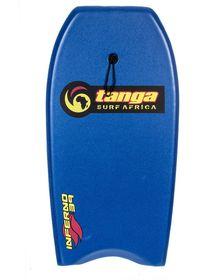 Tanga Inferno 39 Inch Bodyboard - Blue