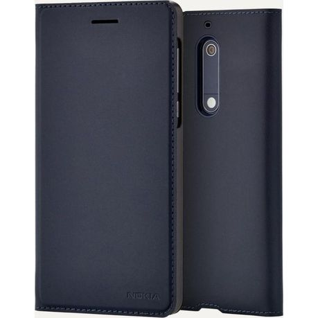 premium selection 33c9c 2215a Slim Flip Cover for Nokia 5 - Blue