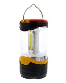 Campground Camping Lantern With Emergency Lights - Orange