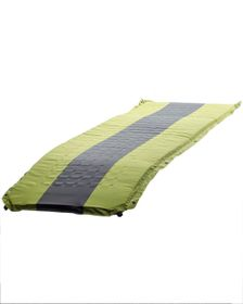 Campground Self Inflating Mattress 80mm Thick - Green