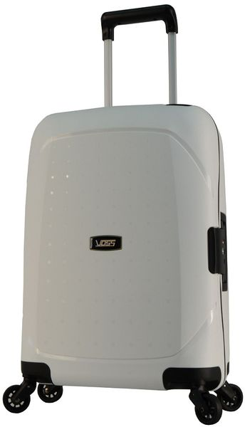 Voss Hard 29L Trolley Case - White
