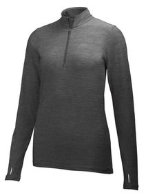 Helly Hansen Womens Aspire Flex 1/2 Zip Training Long Sleeve Top - Ebony