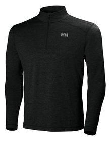 Helly Hansen Mens VTR 1/2 Zip Long Sleeve Active Top - Black