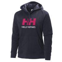 Helly Hansen Womens HH Logo Hoodie - Navy