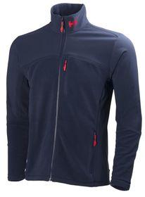 Helly Hansen Mens Crew Fleece Midlayer Jacket - Evening Blue