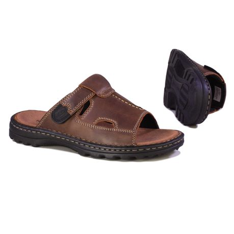 eab6f2214 Hush Puppies Men s Big Daddy Slide Sandal - Brown